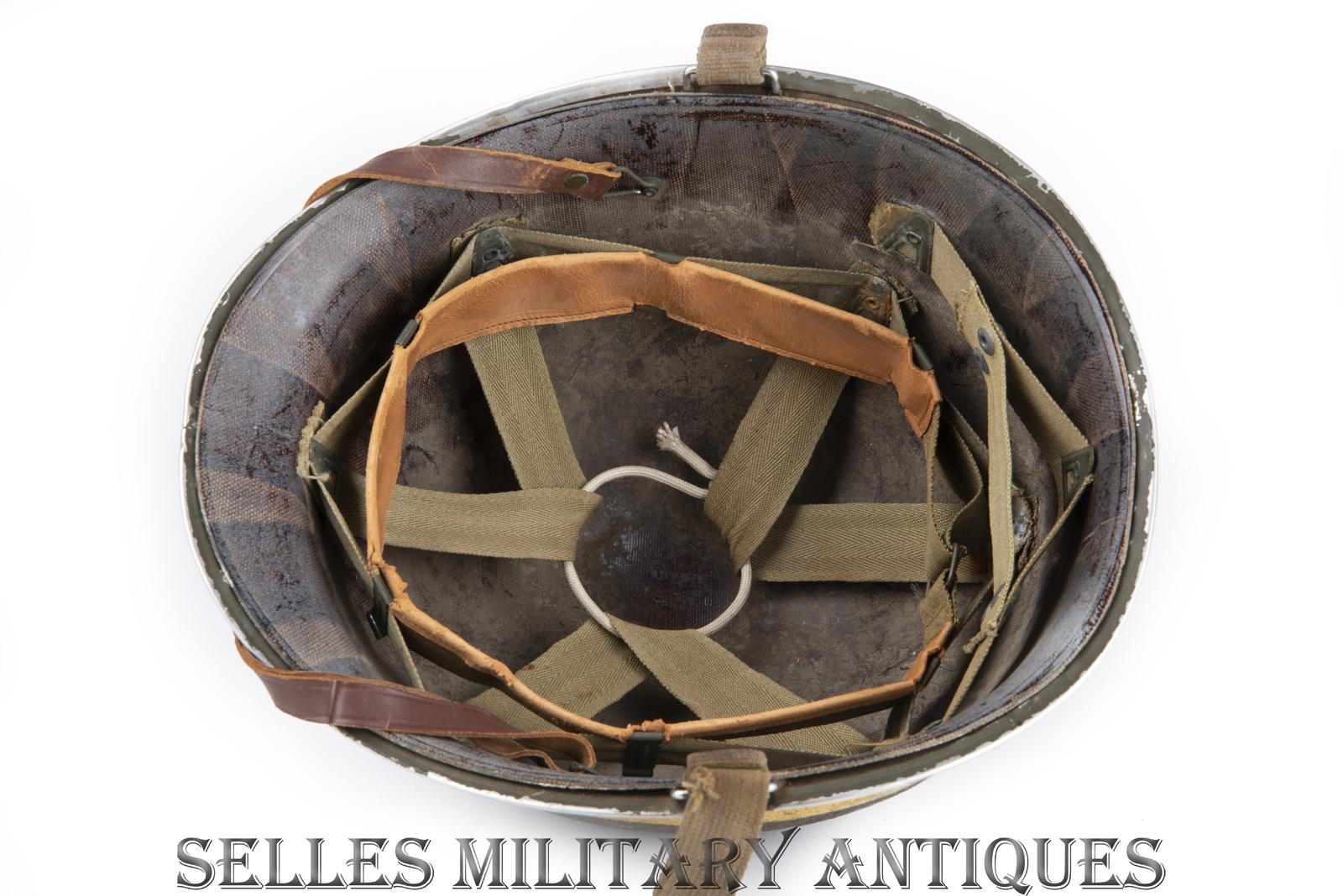 Casque M1 Military Police 2nd I.D. US (20)