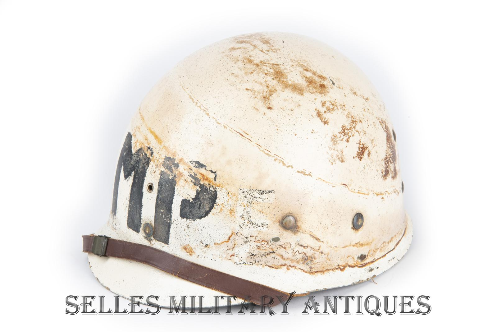 Casque M1 Military Police 2nd I.D. US (21)