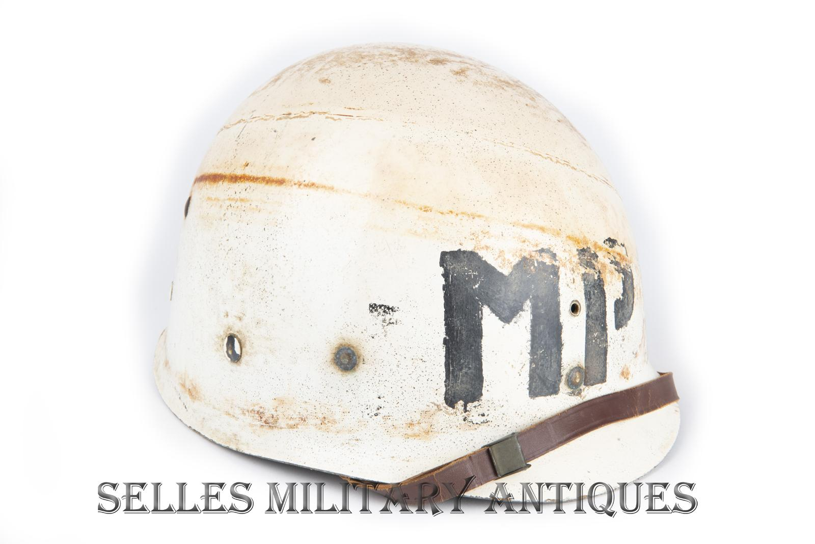 Casque M1 Military Police 2nd I.D. US (22)