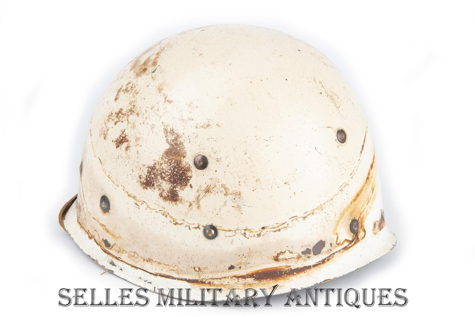 Casque M1 Military Police 2nd I.D. US (24)