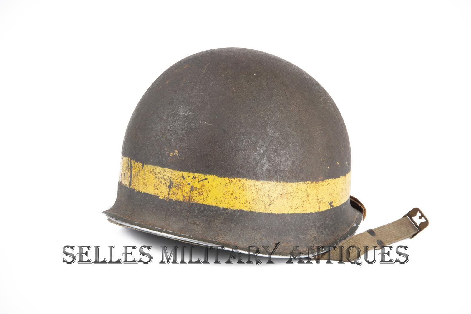 Casque M1 Military Police 2nd I.D. US (3)