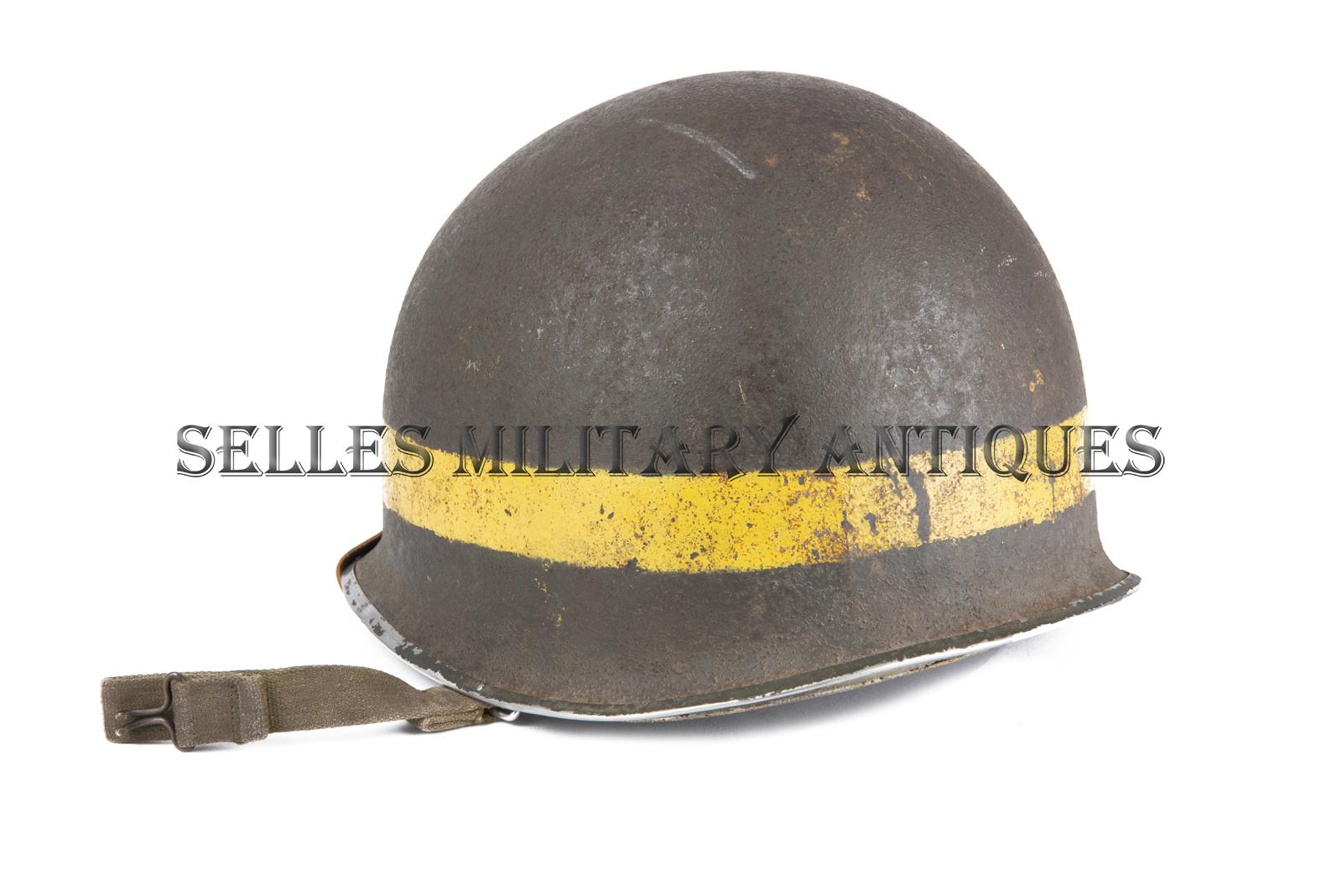 Casque M1 Military Police 2nd I.D. US (4)