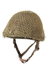 Casque M1 modifie TAP parachutiste Indochine Francais - FRC003 (1).JPG