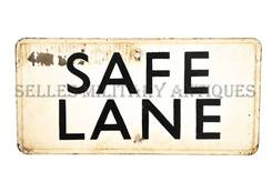 Plaque SAFE LANE Normandie Anglais (1)